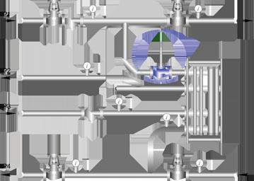 Схема установки РТПД в закрытой системе (ГВС)