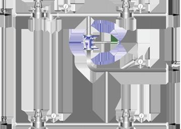 Схема установки РТПД в открытой системе (ГВС)
