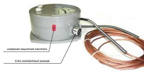 Расположение электрического разъема